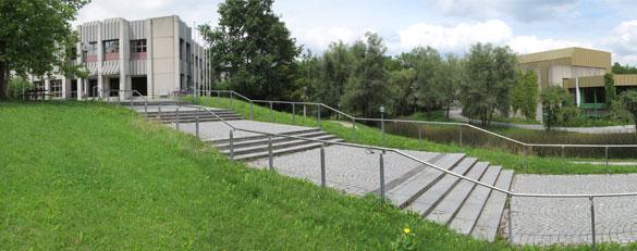 Campus der Universität Augsburg